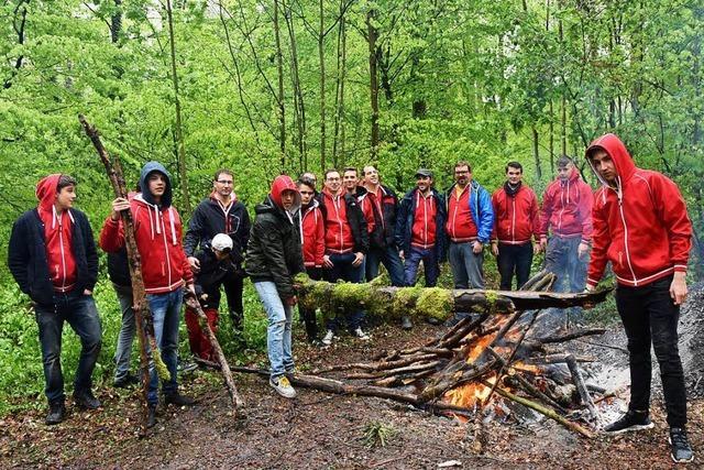 Maischenken: Trockene Plätzchen für Wanderer