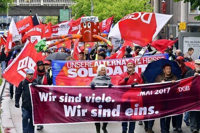 Demos und Feste rund um den 1. Mai verlaufen friedlich