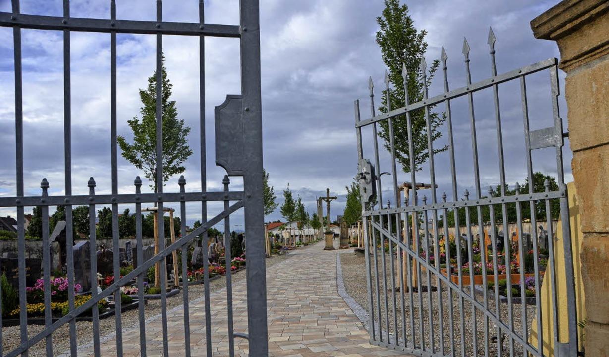 So wie der Friedhof in Hartheim soll n...Friedhof Bremgarten gestaltet werden.   | Foto: Susanne Müller