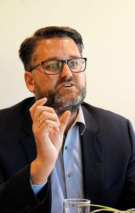 Christoph Kern will ins Rathaus in Denzlingen.    Foto: Markus Zimmermann
