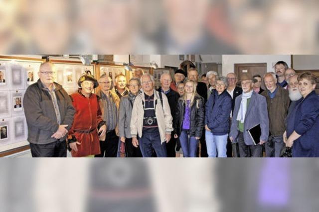 Ungewöhnliche Ausstellung im Laufenburger Rathaus eröffnet