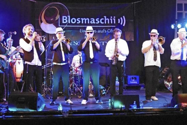 Blosmaschii macht weiter