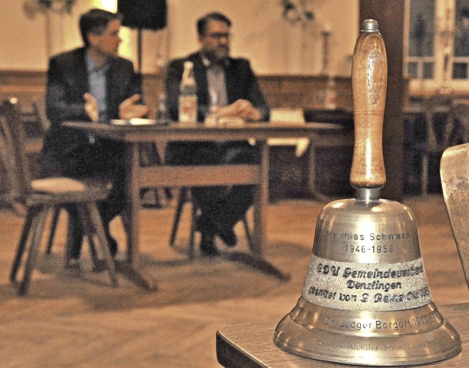 Für wen lautet die CDU die Wahlkampfwe...mtsinhaber Hollemann war nicht geladen    Foto: Markus Zimmermann