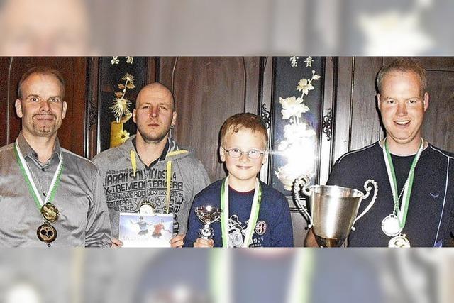 Johannes Böhler verteidigt Stadtmeisterschaftstitel