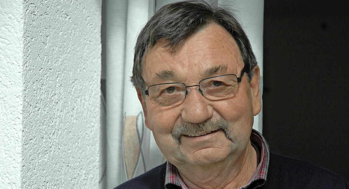 Rolf Weiß kennt in Friedlingen Gott un... Wunder, er wurde dort sogar geboren.   | Foto: Ounas-Kräusel