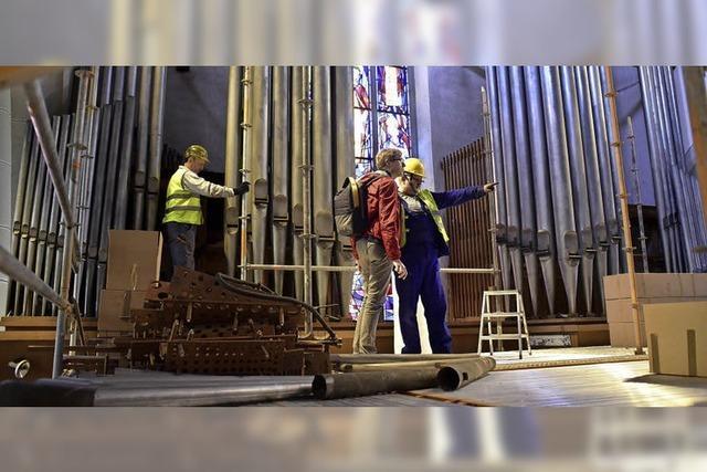 Die Orgel zieht aus der Martinskirche aus