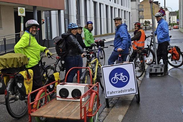Lörrach: Radler setzen sich für Fahrradstraße ein