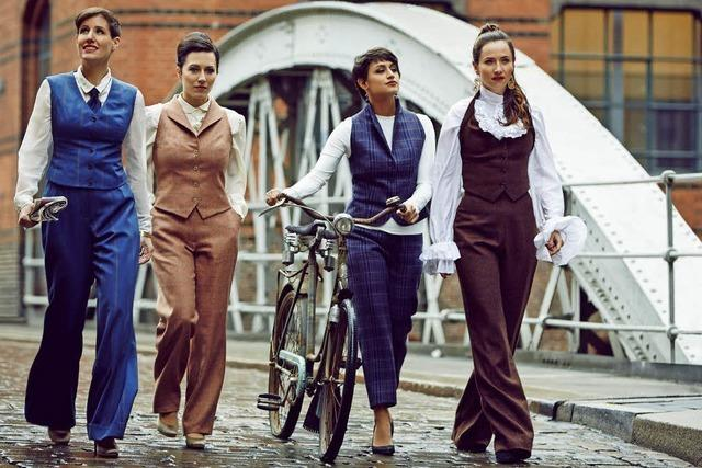 A-cappella-Quartett Les Brünettes nimmt Beatles-Album in den Abbey-Road-Studios auf