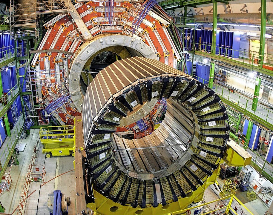 Riesen-Magnet im LHC   | Foto: dpa