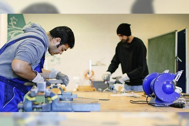 Die Schöpflin Stiftung hilft Migranten auf dem Arbeitsmarkt