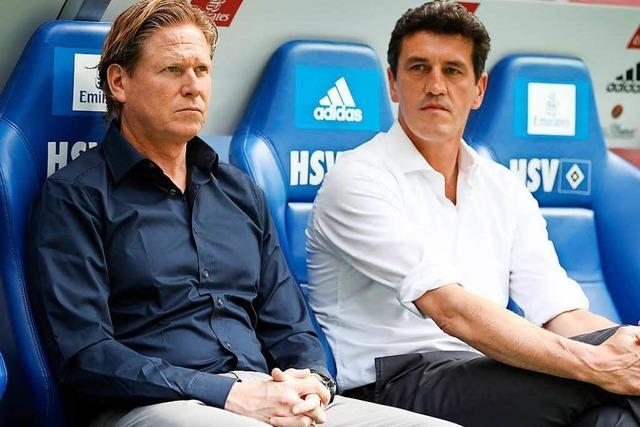 Der abstiegsbedrohte HSV suspendiert drei Spieler
