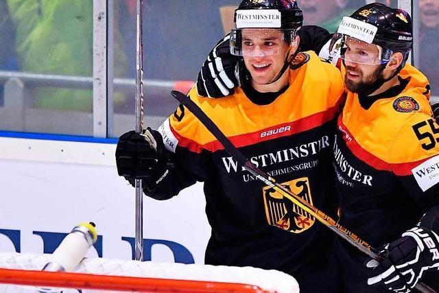 Deutsche Eishockey-Cracks mit hochwertigen Kader bei Heim-WM