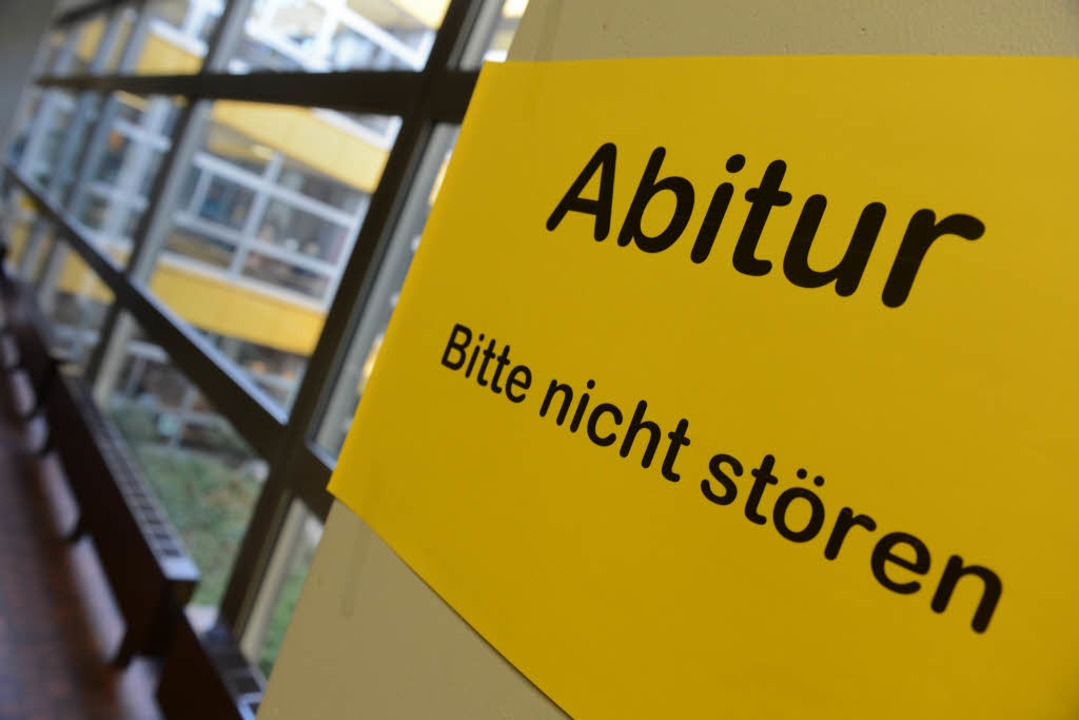 An einem Stuttgarter Gymnasium gab es im Englisch-Abi eine peinliche Panne.  | Foto: dpa