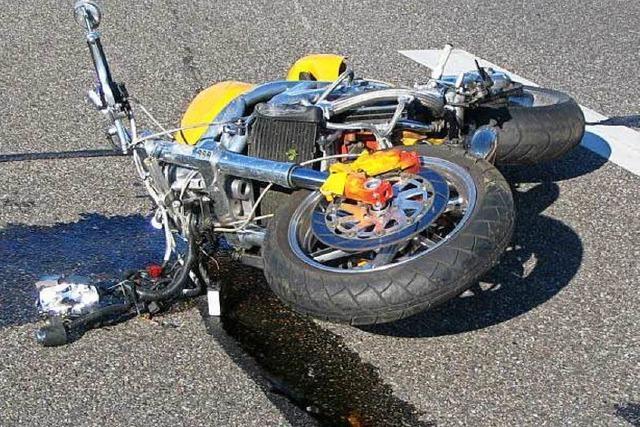 Polizeipräsidium: 2017 bereits vier tote Motorradfahrer
