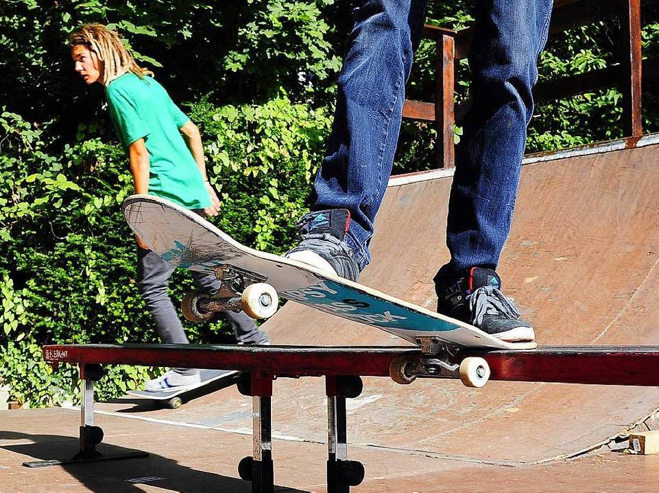 Der Skatepark kann weitergebaut werden.  | Foto: Thomas Kunz
