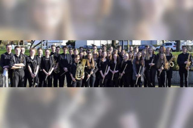 Jugendblasorchester Breisgau in Teningen-Köndringen