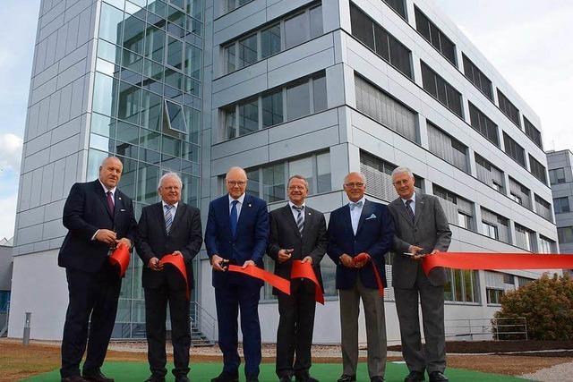 Endress+Hauser hat in Friedlingen mehr als zehn Millionen Euro investiert