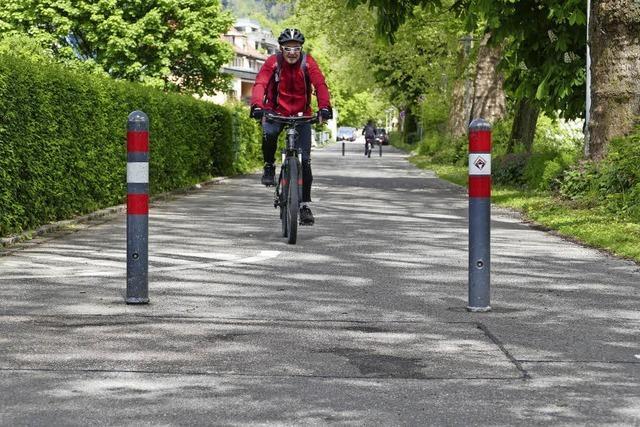 Fahrradstraße kommt ins Rollen