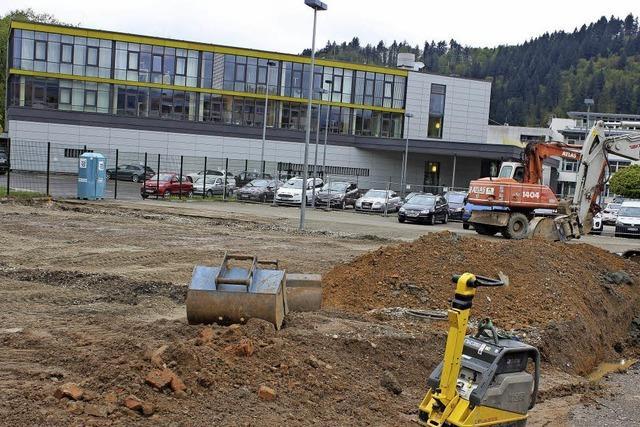 Bauen auf dem Sick-Campus