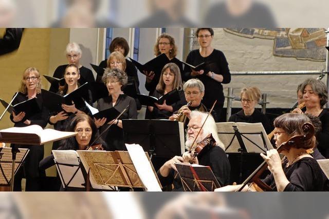 Kantorei Lörrach: Konzert zum 60. Geburtstag
