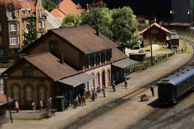 Dieses Eisenbahn-Modell ist eine Zeitreise durch das Höllental in den 1930er Jahren