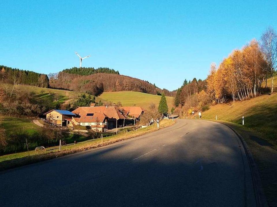 Jetzt kräftig treten: der Anstieg zum Geisberg.  | Foto: Matthias Maier