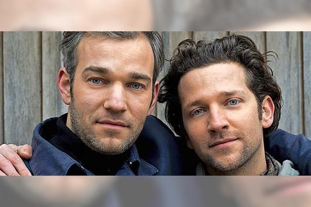 Songwriter-Pop-Duo im Café verkehrt in Murg-Oberhof