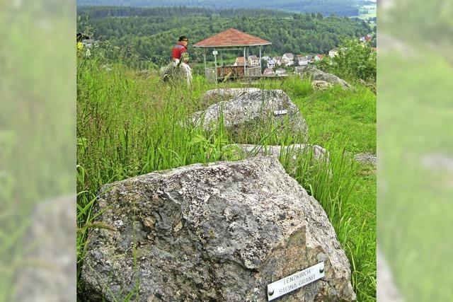 Geselliger Hock im Geopark
