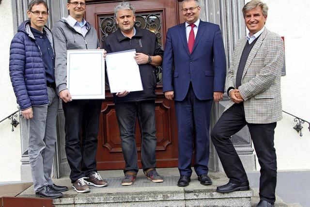 Bad Säckingen erhält erneut ein Umwelt-Zertifikat