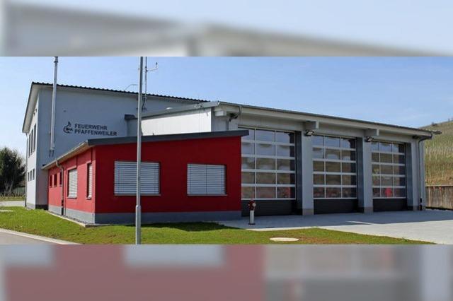 Pfaffenweilers brandneues Gerätehaus