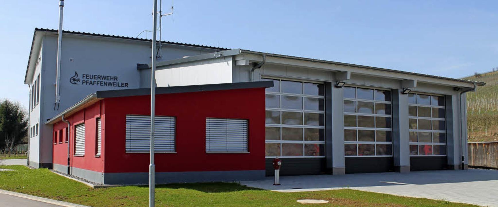 Das neue Feuerwehrhaus in Pfaffenweiler  | Foto: Gemeinde