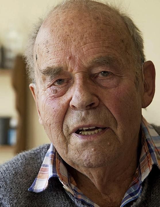 Ernst Udo Kaufmann ist auch ein Gründungsmitglied der Agus Markgräflerland.   | Foto: v. Münch