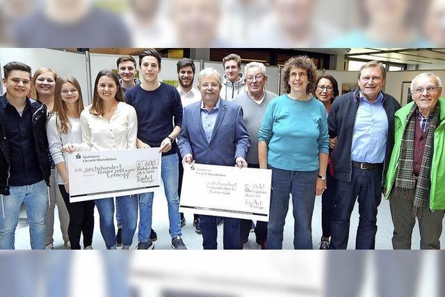 TonArt spendet 1200 Euro