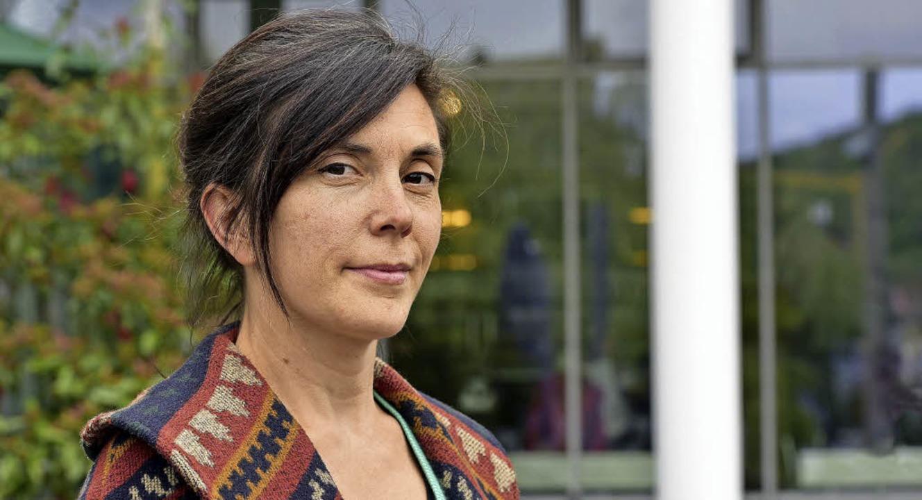 Ein langes Ringen bis zum eigenen Text:   die Dramatikerin Tina Müller   | Foto: Thomas Kunz