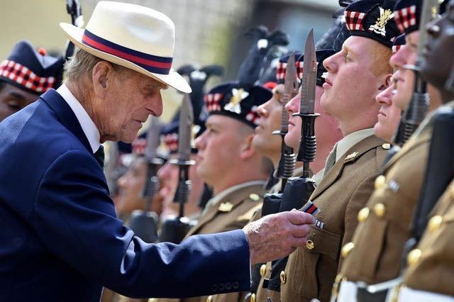 Prinz Philip geht in Rente - mit 96 Jahren