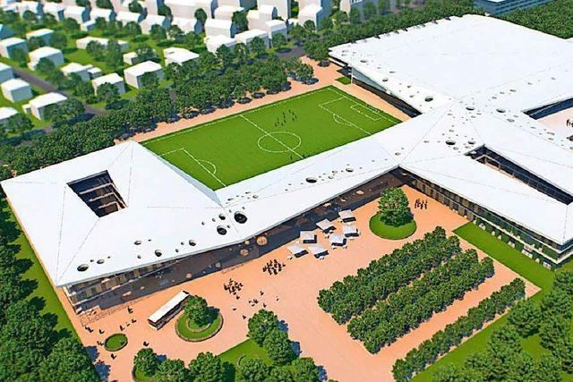 Der Bau der DFB-Akademie in Frankfurt verzögert sich