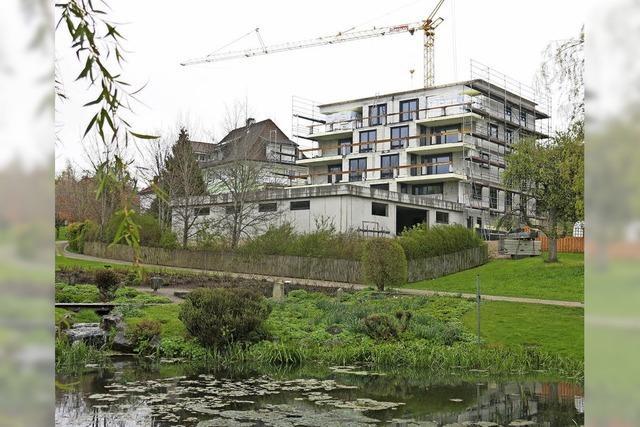 Neubauprojekt nimmt Formen an