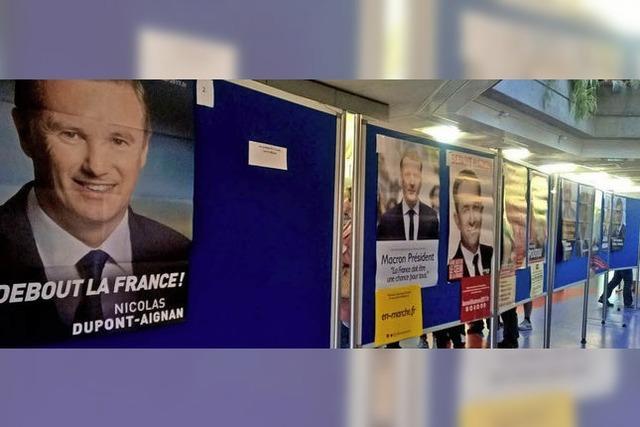 Frankreich-Wahlen auch in Freiburg