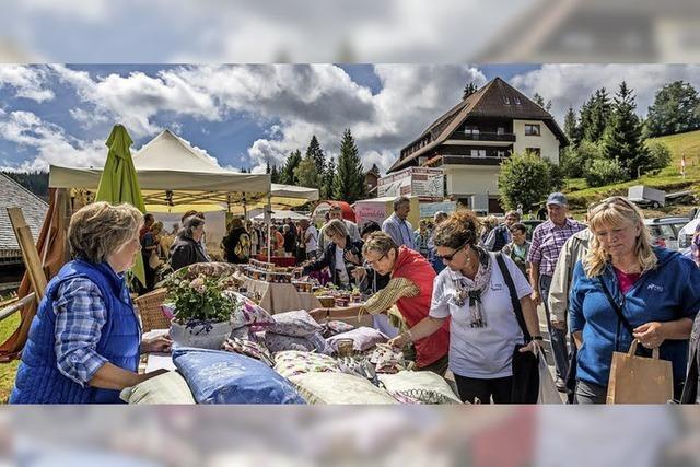 Eröffnung der diesjährigen Naturparkrmarkt-Saison in Elzach