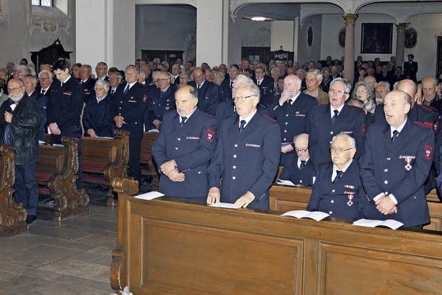 Kreis-Feuerwehren feiern ihren Schutzpatron
