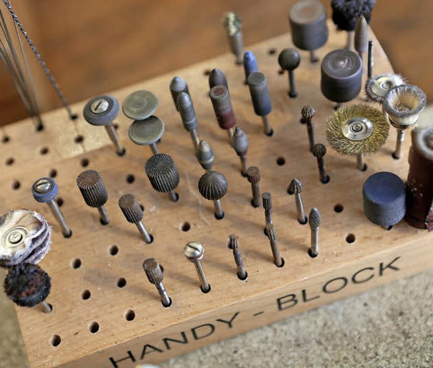 Filigrane Werkzeuge  | Foto: Christoph Breithaupt