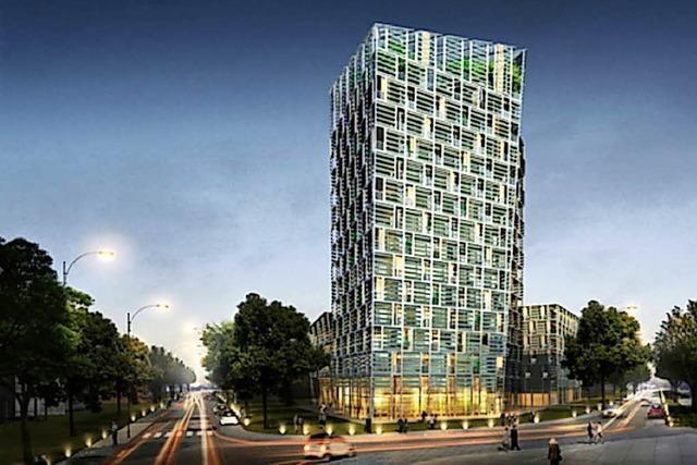Bauarbeiten am 50-Millionen-Euro-Turm beginnen bald