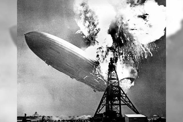 Absturz des Zeppelins