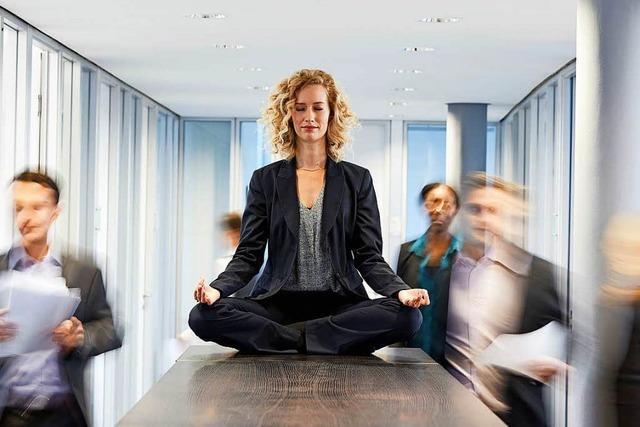 Macht des stillen Sitzens: Meditation als Allheilmittel