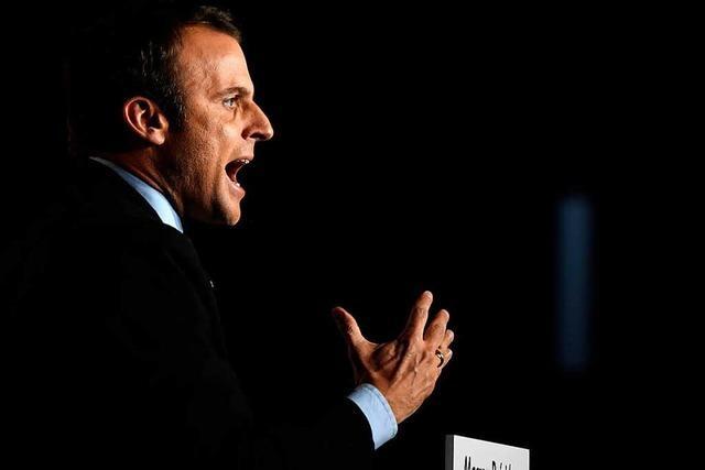 Hacker-Angriff auf Präsidentschaftskandidat Macron