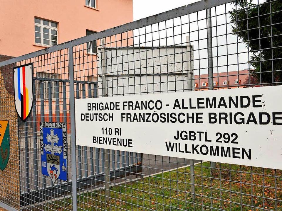 Deutsche Soldaten sollen einen Besprec...hrmachts-Andenken ausgeschmückt haben.  | Foto: dpa