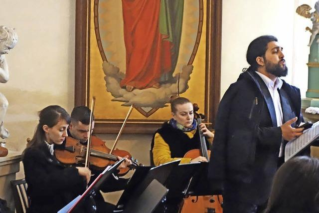 Virtuose Klänge in der Schlosskapelle