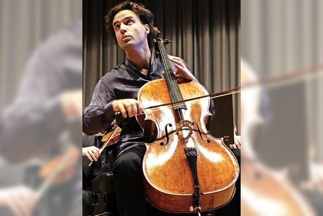 Gefragter Cellist spielte im Kursaal