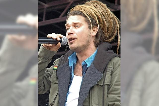 Reggae-Sound im Nieselregen