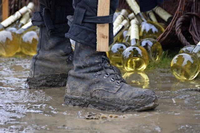 Mittelalterfest kämpft mit dem Regen